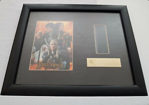 LOTR The Two Towers - Limited Edition Framed/Mounted (10x8) Photo + Film Cell