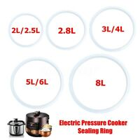 Electric Pressure Cooker Parts Sealing Ring Silicone Replacement Gasket Home
