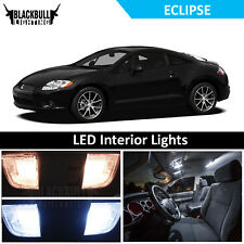 White LED Interior Lights Accessories Replacement Kit fits 2006-2012 Eclipse