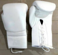 New Custom Real Leather Boxing Gloves Any Logo Name, no winning grant
