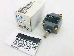 New Eaton E50DR1 Limit Switch Head E50 Series