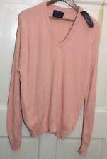 Vintage Vintage 80s Jantzen V-neck Sweater Polar Peach (Size Xl) Nos Nwt