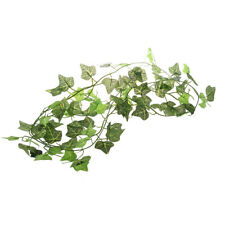 1X(New Garden Home Decor Fake Plant Green Ivy Leaves Vine Foliage Artificial 2H