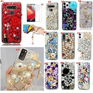 for Samsung Galaxy Phone Cases,Bling Diamonds Crystals Sparkly Women Soft Cover