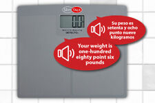 Detecto Digital Talking Bath Scale- Bilingual - 400 lb Cap.- NEW > FREE SHIPPING