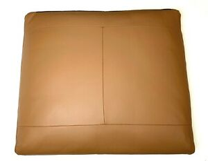 Ikea LIDHULT Seat Cushion Leather Replacement Slipcover Cover Brown