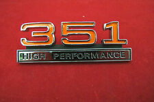 Ford Falcon XW GT 351 High Performance Guard Badge