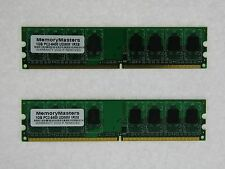 2GB  2x1GB 1024MB PC2-6400 DDR2 Desktop MEMORY 800MHz 6400 240-pin