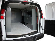 Van Shelving Unit with Door - Space Saver Full Size Ford, GMC, Chevy 38Lx44Hx13D
