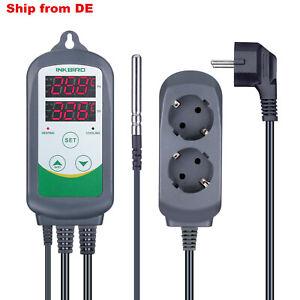 INKBIRD ITC-308 Digital Temperaturregler 230V Heizung Kühlung Thermostat Sonde