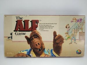 Vintage ALF Out of this World Family Fun Board Game Coleco Games 1987 Complete
