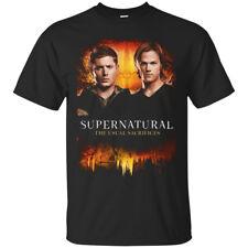The Supernatural The Usual Sacrifices TV Series Black Men's T-Shirt Tee