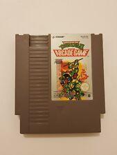 Teenage Mutant Hero TURTLES 2 The Arcade Game Nintendo Nes pal NOE solo cartucho