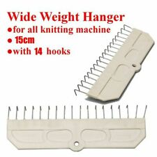 2× 122 x 26mm Claw Type Weight Hanger Fit for Brother Singer Knitting Machine