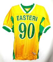 Riddell Football Jersey Size XL Eastern Yellow & Green # 90 Made in USA
