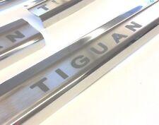 Edelstahl Einstiegsleisten für VW Volkswagen TIGUAN mit Gravur.