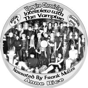 Anne Rice  Vampire Chronicles 10 Unabridged Audio-books on MP3 Cds