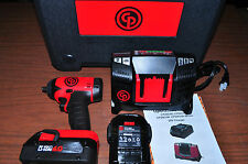 """Chicago Pneumatic 8828K 3/8"""" Dr 20V IMPACT WRENCH 2 Battery 4.0AH Made in FRANC"""