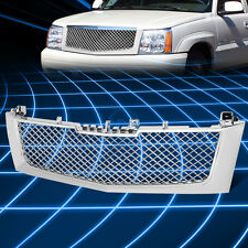 Chrome ABS Front Bumper Honeycomb Mesh Grille for 2002-2006 Escalade ESV/EXT SUV