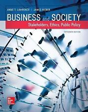 Business and Society : Stakeholders, Ethics, Public Policy by Anne T....