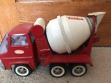 Tonka Gas Turbine Concrete Truck Vintage 1960s Cement Mixer, Read
