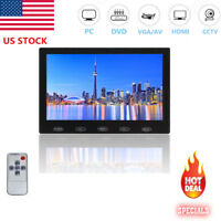 "US Mini HD 7"" LCD CCTV Monitor PC Screen HDMI VGA AV RCA 1080p for Raspberry Pi"