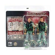 Young Bucks Dual Autographed Action Figures