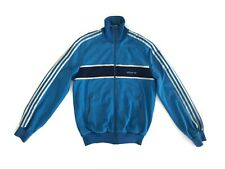 Rare Vintage ADIDAS Track Jacket Tracksuit Top Made In Yugoslavia Size L/52 Blue