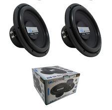 "2 x BXW-124 4800 Watt 12"" Subwoofer 4+4 Ohm DVC Pro Car Audio Bass"