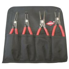 Precision Circlip Plier Set - Tool Roll Knipex 001958 Made in Germany