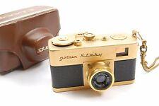 Riken Golden Steky Subminiature camera with 2.5cm f3.5 Stekinar lens, VGC cased