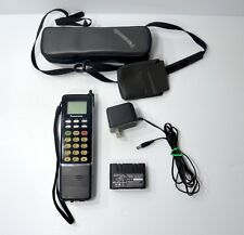 Rare Vintage Panasonic Brick Mobile Cell  Phone Model # EB-3500  W/ Charger Case