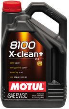 MOTUL Motoröl 8100 X-clean + 5W-30 5 Liter Audi BMW MB VW Longlife