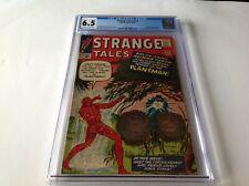 STRANGE TALES 113 CGC 6.5 ORIGIN 1ST PLANTMAN 1ST DORIS EVANS MARVEL COMICS