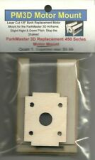 Replacement Laser Cut MultiPlex ParkMaster 3D Motor Mount-Stop the Shakes-NEW
