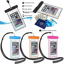 Diving Swimming Waterproof Case Bag Wallet Protect Phone from Water Sand Dust A