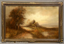 19th Century William Henry Chandler Pastel Painting (AMERICAN, 1854-1928)