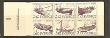 Sweden SC # 1671a Inland Boats .Complete Booklet