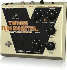 BEHRINGER VT999 Vintage Tube Monster OVERDRIVE PEDAL Guitar Effector F/S JAPAN