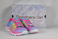 Youth Girl's Skechers Trainer Lite-Color Dance Sneakers Multicolored