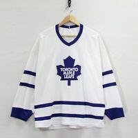 Vintage Toronto Maple Leafs CCM Maska Jersey Size XL 90s NHL Hockey