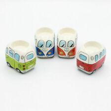 Camper Van Ceramic Candle Tea Lights Set of 4 Novelty High Quality New UK