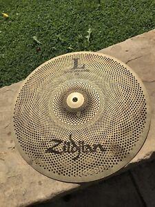 "Zildjian L80 Low Volume 14"" Crash cymbal for drum kit"