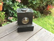 More details for vintage british rail signal lamp(brm) with bullseye lens 40/50s