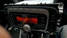 FORD S-MAX , GALAXY SONY DAB RADIO STEREO CD PLAYER  WITH CODE , 8S7T-18C939-LB