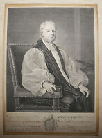 John Tillotson by George Vertue after Godfrey Kneller - Etching - Circa 1710