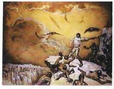 MARCUS BOAS signed fantasy poster - 11 x 14 - Solomon Kane Hills of the Dead