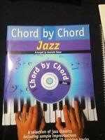 CHORD BY CHORD JAZZ (+CD), Sheet music
