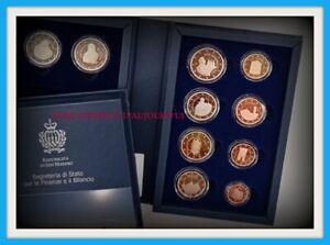 Coffret Saint Marin 2021 BE10 pièces de 1 cent à 2 euros + les 2€ commémorative