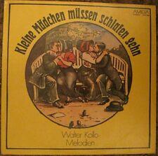 """DDR-LP, Schallplatte, AMIGA, """" Kleine Mädchen müssen schlafen gehen """", W.Kollo<"""